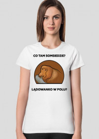 Koszulka damska, Lądowanko w polu