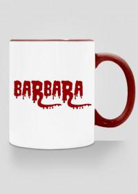 Kubek Barbara z imieniem