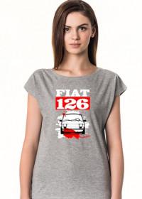 KOSZULKA DAMSKA - Fiat 126 RW