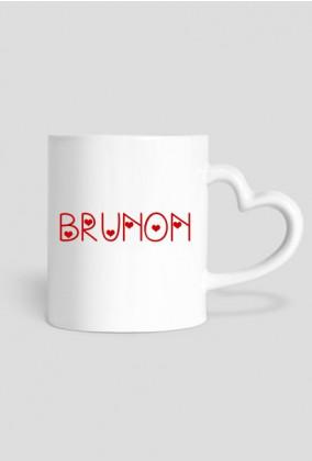 Kubek Brunon serce