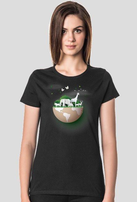 koszulka damska dzień ziemi