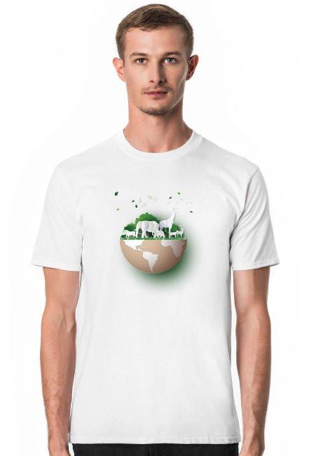 Koszulka męska dzień ziemi
