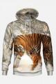 Bluza z kapturem Tygrys