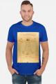 Leonardo da Vinci Czlowiek witruwianski koszulka