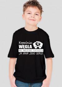 Byle na 6 - koszulka dla chłopczyka z serii Serce Taty.