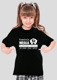Byle na 6 - koszulka dla dziewczynki z serii Serce Taty.