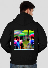 YOLO adversarial person detection patch hoodie