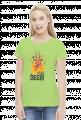 Oh deer koszulka z jeleniem damska