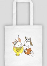 Grające sowy - torba