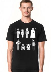 Gwiezdne wojny postacie koszulka