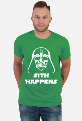 Sith Happens Darth Vader Star Wars koszulka