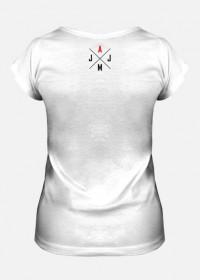 Koszulka damska fullprint 'Jest Audi Jest Moc'