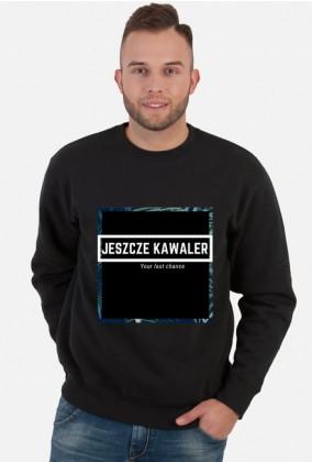 Bluza Jeszcze Kawaler czarna, ramka