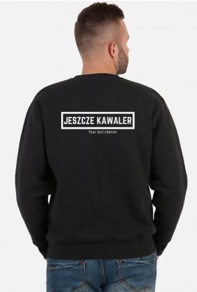 Bluza Jeszcze Kawaler czarna tył, kawalerski