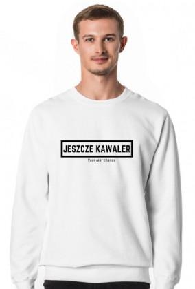 Bluza Jeszcze Kawaler biała przód, kawalerski