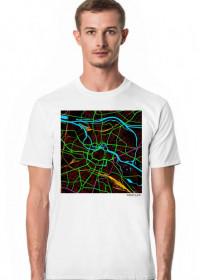 Koszulka z mapą Wrocławia.