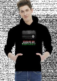 Bluza z kapturem czarna Made in Hungary