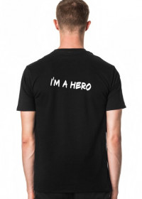 T-shirt męski HERO