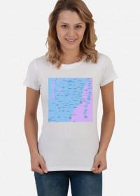 Koszulka z mapą Miami.