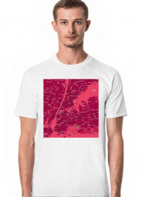 Koszulka z mapą Nowego Jorku.