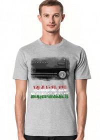 Koszulka szara (melanż) Made in Hungary