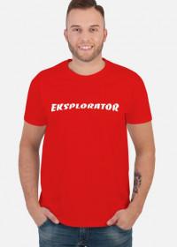 koszulka Eksplorator Urbex red