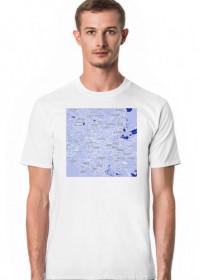 Koszulka z mapą Mexico City