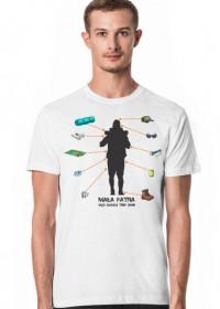 Mała Fatra 2019 ekwipunek inna koszulka 150gr