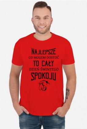 Urodzony w urodziny - Nosacz sundajski - Najlepsze to dzień spokoju - idealne na prezent dla taty na dzień ojca i urodziny - czarny napis - koszulka męska