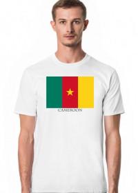 Koszulka z flagą Kamerunu.