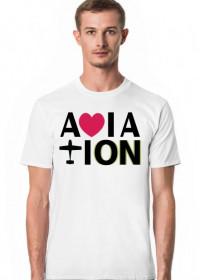 Koszulka męska, Aviation