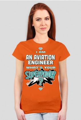 Koszulka damska, Aviation Engineer