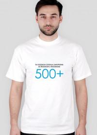 Koszulka męska z 500+