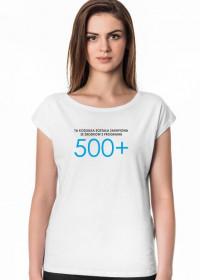Koszulka damska z 500+