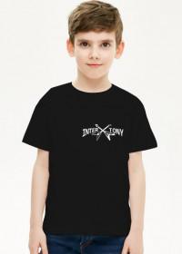 Koszulka dziecięca chłopiec małe logo