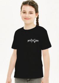 Koszulka dziecięca dziewczynka małe logo