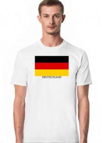 Koszulka z flagą Niemiec.
