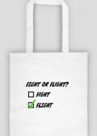 Torba, Fight or flight
