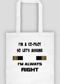 Torba, I'm co-pilot