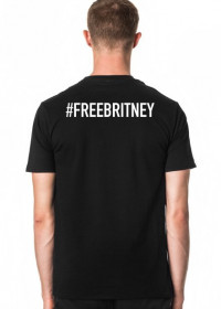 NEW COLLECTION - FREE BRITNEY - Britney Spears - koszulka czarna - unisex