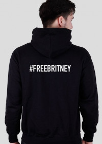 NEW COLLECTION - FREE BRITNEY - Britney Spears - bluza czarna - unisex