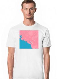 Koszulka z mapą Honolulu.