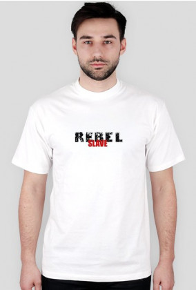 T-Shirt Rebel SLAVE White