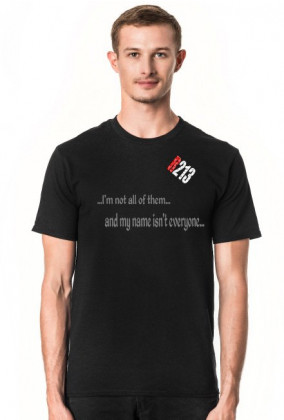 T-Shirt R213 I'm not all of them