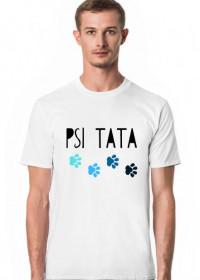 Męska koszulka na Dzień Taty - biała