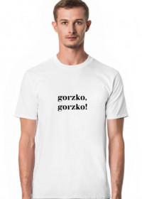 Koszulka męska - gorzko, gorzko!