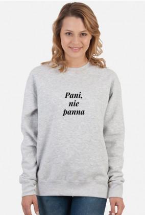 Bluza damska - Pani, nie panna