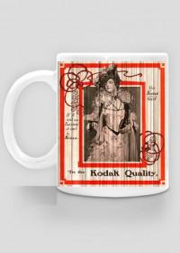 Kubek wiktoriański - Kobieta retro, vintage