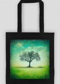 Eko torba drzewo - Vintage, retro, grunge