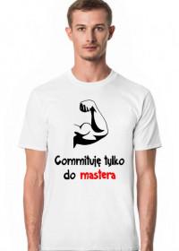 Koszulka: Commituję tylko do mastera light